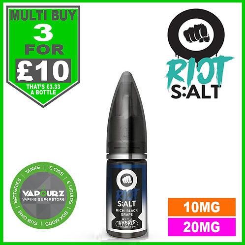 Rich Black Grape Riot Salt 10ml