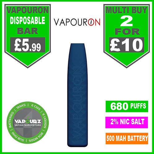 Vapouron Grape Ice disposeable bar