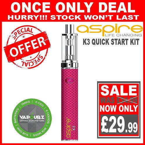 Aspire K3 Quick Start Kit Pink