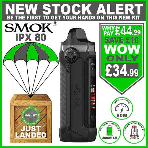 SMOK IPX 80 Kit Black Carbon Fibre