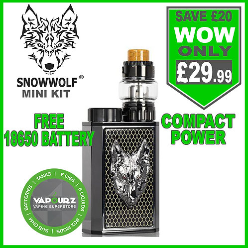 Snowwolf mini kit Black + Gunmetal