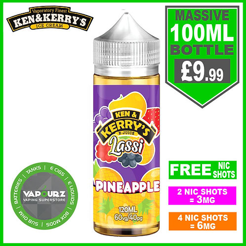 Pineapple Lassi Ken & Kerry's 100ml