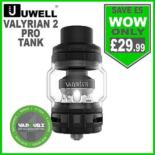 Uwell Valyrian 2 Pro Tank Full Black
