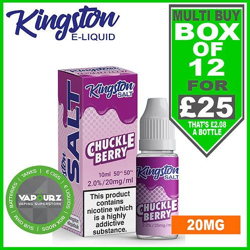 Box Deal Kingston Chuckleberry Nic Salt 20mg