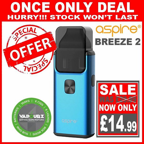 Aspire Breeze 2 Blue