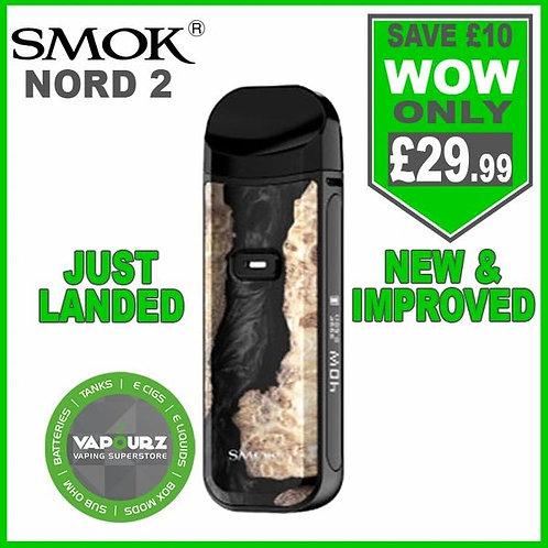 Smok Nord 2 Kit Black Stabalizing Wood