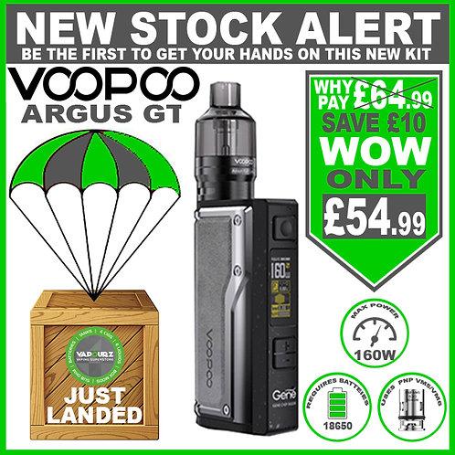 Voopoo Argus GT Kit Vintage Grey + FREE Batteries