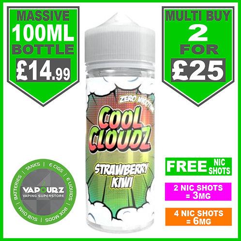 Strawberry Kiwi Cool Cloudz 100ml