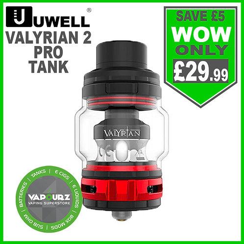 Uwell Valyrian 2 Pro Tank Black & Red