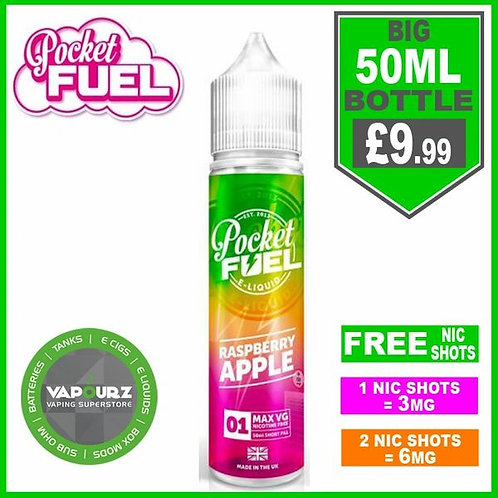 Raspberry Apple Pocket Fuel 50ml