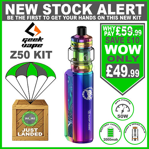 Geekvape Z50 Kit Rainbow