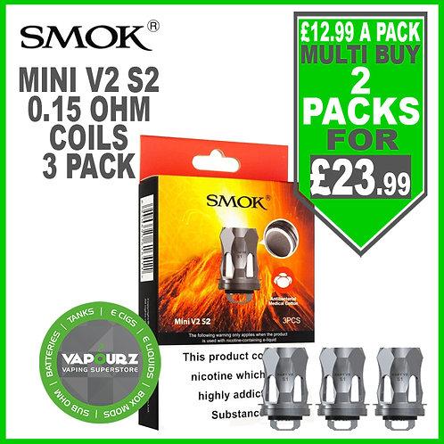 Smok Pack of 3 Mini V2 S2 Coils