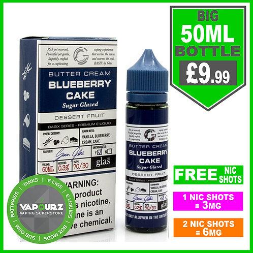 Blueberry Cake Basix Series Glas 50ml