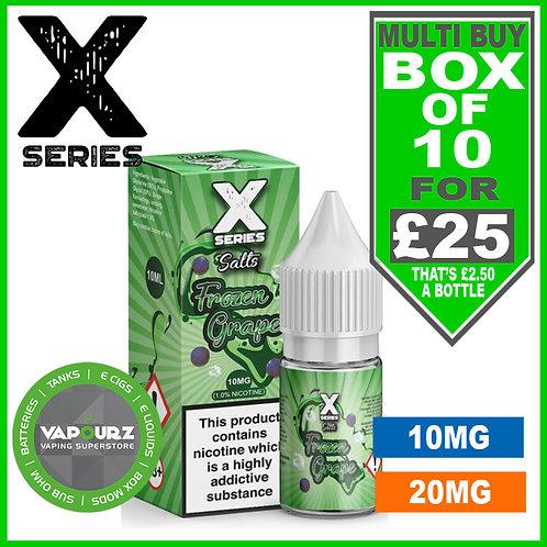 Box Deal Frozen Grape X Series Nic Salts