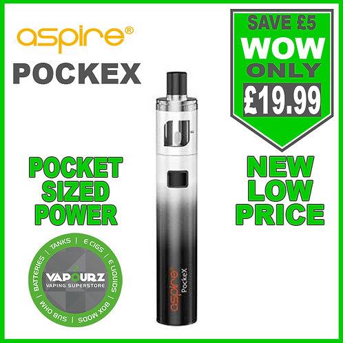 Aspire Pockex Kit Black/White gradient