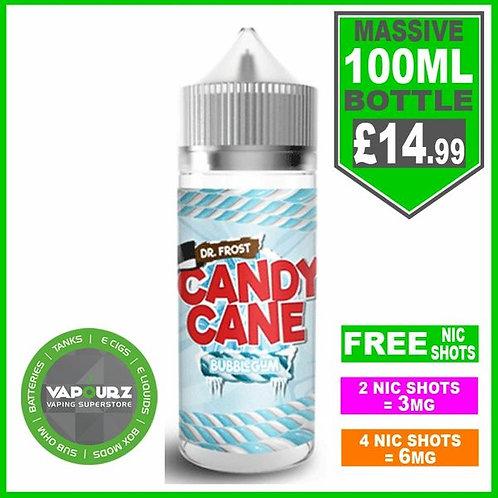 Bubblegum Candy Cane Dr Frost 100ml