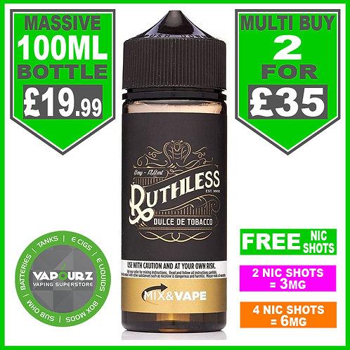 Dulce De Tobacco Ruthless 100ml