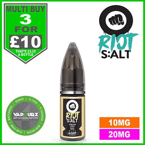 Cream Leaf Riot Salt 10ml