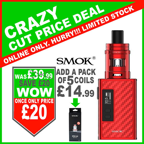 SMOK Guardian 40W Kit Red