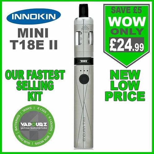 Innokin T18E ii Mini Kit Silver
