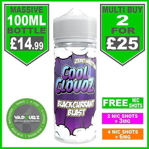 Blackcurrant Blast Cool Cloudz 100ml
