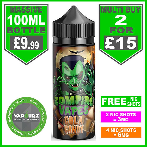 Zompire Vapes Cola Candy