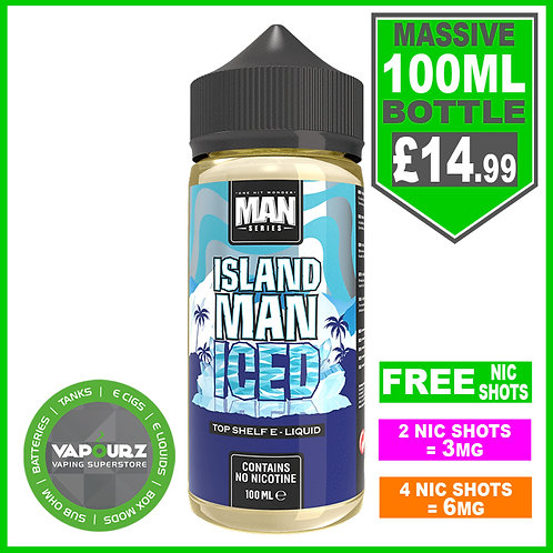 Island Man Iced One Hit Wonder 100ml