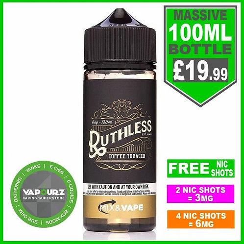 Coffee Tobacco Ruthless 100ml