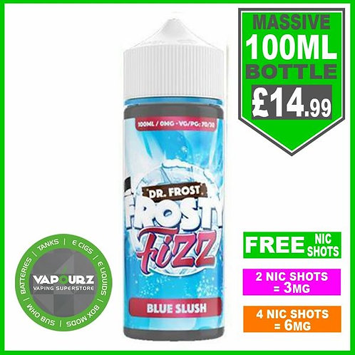 Blue Slush Frosty Fizz Dr Frost 100ml