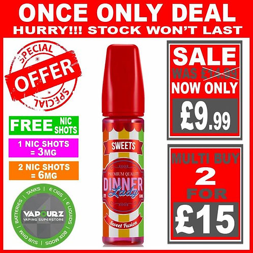 Sweet Fusion Sweets Dinner Lady 50ml