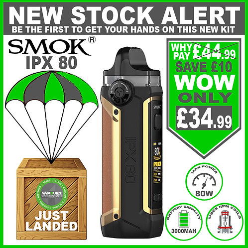 SMOK IPX 80 Kit Brown