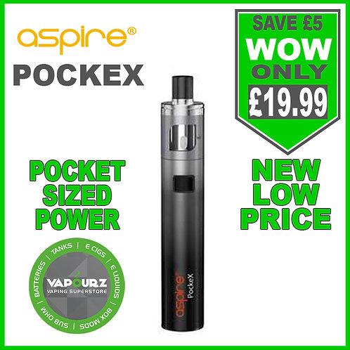 Aspire Pockex Kit Grey gradient