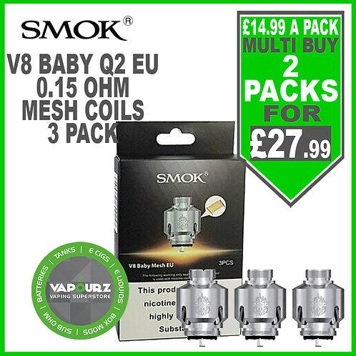Smok V8 Baby Mesh EU Coils (3 Pack)