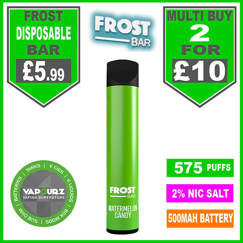 Frost Bar Watermelon Candy