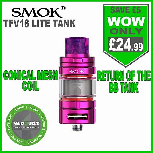 SMOK TFV16 LITE Tank Purple Red