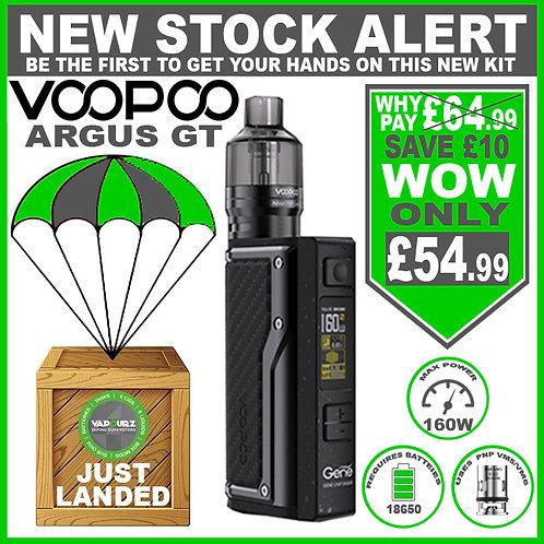 Voopoo Argus GT Kit Carbon Black + FREE Batteries
