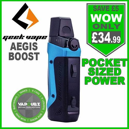 Geek Vape Aegis Boost Kit Almighty Blue