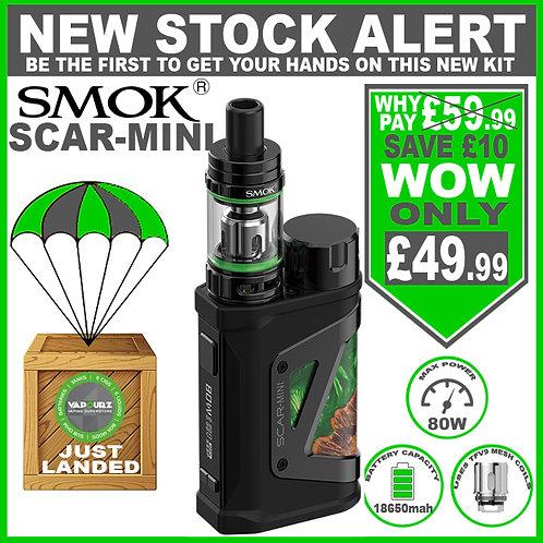 SMOK Scar - Mini Kit Green Stabilizing Wood + FREE 18650 Battery