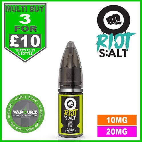Sub Lime Riot Salt 10ml