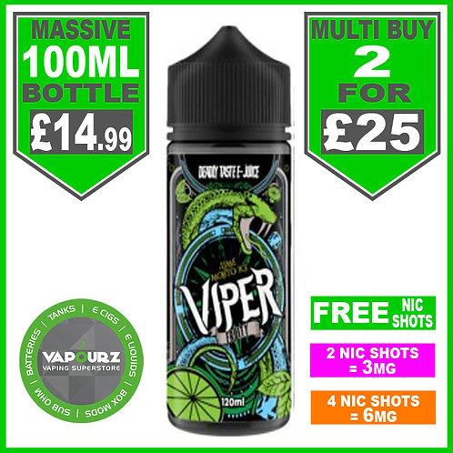Lime Mojito Ice Viper Fruity 100ml