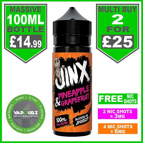 Jinx Pineapple & Grapefruit 100ml