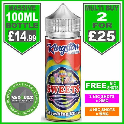 Refreshing Chews Sweets Kingston 100ml
