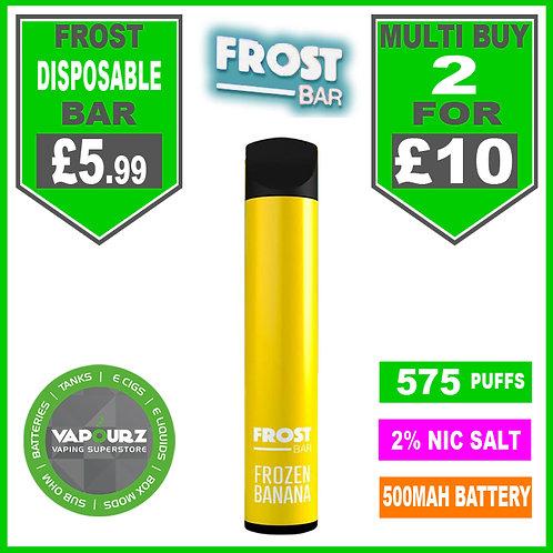 Frost Bar Frozen Banana