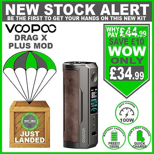 Voopoo Drag X Plus Mod Sandy Brown & FREE 18650 Battery