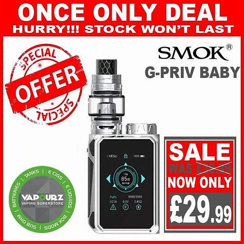 Smok G Priv Baby Kit Prism Chrome Plus Free 18650 Battery