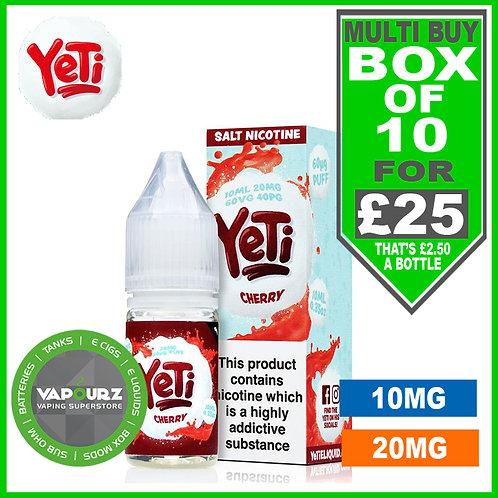 Box Deal Cherry Yeti Nic Salts