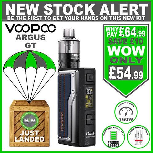 Voopoo Argus GT Kit Dark Blue Plus 2 x FREE 18650 Batteries