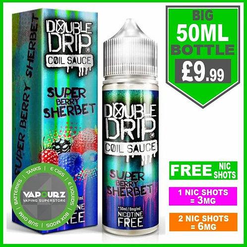 Super Berry Sherbet Double Drip 50ml