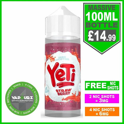 Strawberry Yeti 100ml