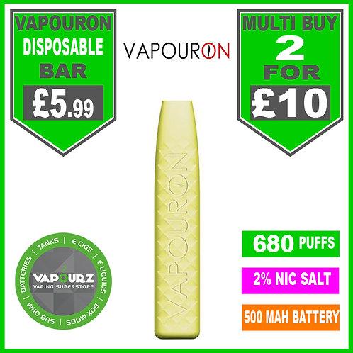 Vapouron Lemon Ice disposeable bar
